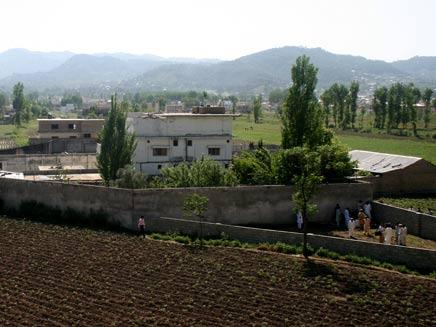 האחוזה של בן לאדן בפקיסטן (צילום: AP)