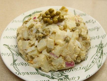 סלט תפוחי אדמה, טעימא (צילום: עודד קרני)