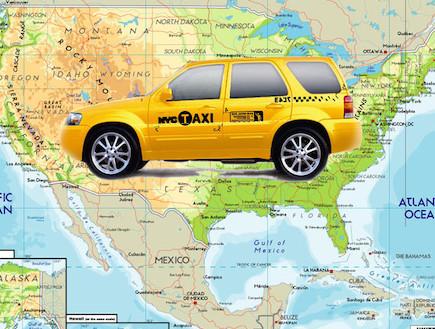 מונית מניו יורק ללוס אנג'לס