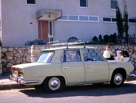 תעשיית הרכב הישראלית (צילום: ארכיון משפחת וינד)