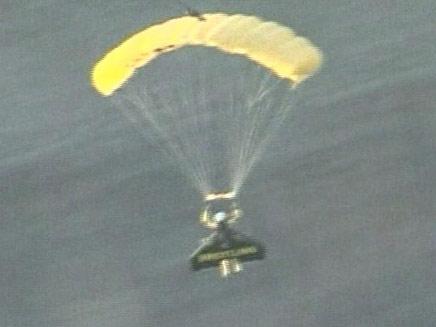 הג'טמן טס מעל הגרנד קניון (צילום: חדשות 2)