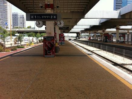 הנהלת הרכבת נגד העובדים (צילום: גיא נובוטני, חדשות 2)