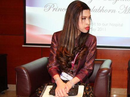 """הנסיכה פרופ' צ'ולבורן מהידול (צילום: מרכז רפואי רמב""""ם)"""