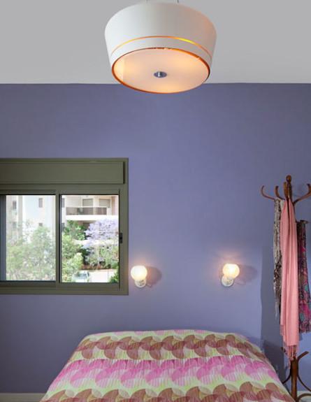 חדר שינה הורים אחרי שיפוץ - ליאת בני פלד (צילום: שי אפשטיין)