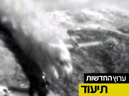 מטוס כיבוי (צילום: חדשות 2)