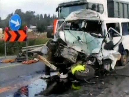"""האם מחדל במע""""צ גרם לתאונת הדרכים? (צילום: חדשות 2)"""