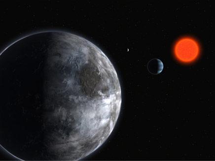 גליסה 581. האם תרצו לחיות עליו? (צילום: European Southern Observatory)