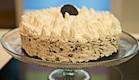 עוגת גבינה ועוגיות אוראו