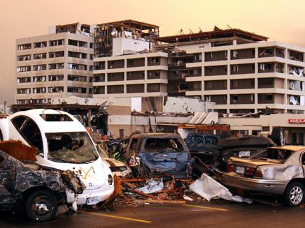 """סופות טרנדו קטלניות בארה""""ב (צילום: AP)"""