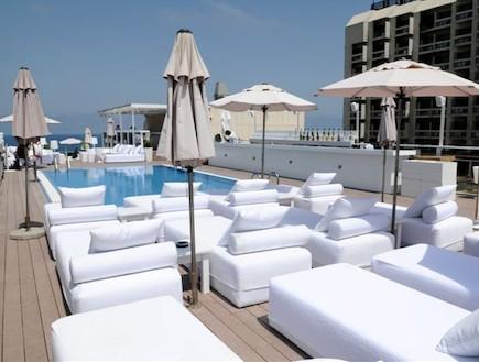 בריכת מלון מרינה תל אביב (צילום:  יחסי ציבור )