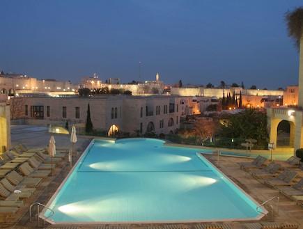בריכה במלון מצודת דוד (צילום:  יחסי ציבור )