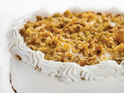 עוגת גבינה אוורירית (צילום: אנטולי מיכאלו, העוגות של פסקל, הוצאת קוראים)