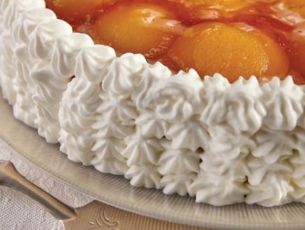 עוגת גבינה עם משמש (צילום: אנטולי מיכאלו, העוגות של פסקל, הוצאת קוראים)