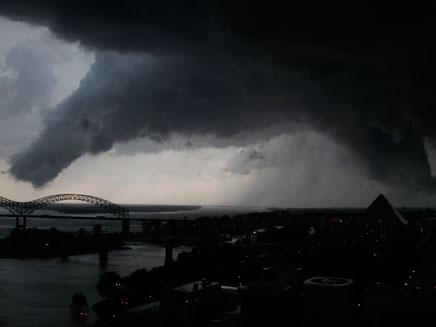 """טורנדו ארה""""ב, מיזורי (צילום: חדשות 2)"""