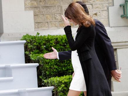 קרלה ברוני (צילום: חדשות 2)