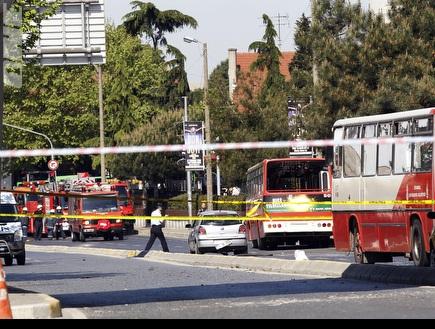 זירת הפיגוע באיסטנבול (רויטרס) (צילום: מערכת ONE)