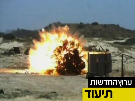"""ניסוי מבוקר: צה""""ל נלחם בטרור (צילום: חדשות 2)"""