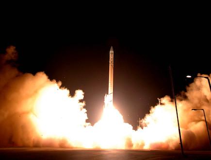 שיגור טיל החץ (צילום: Handout, GettyImages IL)