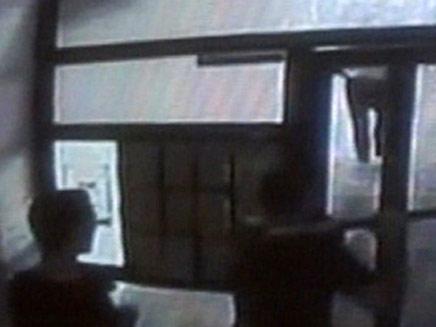 כך נעצר פשיקוב לאחר המעשים (צילום: חדשות 2)