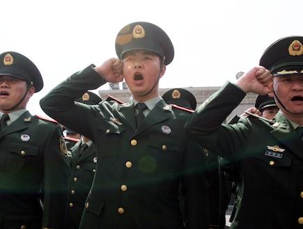 חיילים סיניים (אילוסטרציה) (צילום: VCG, GettyImages IL)