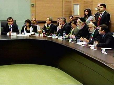 ישיבה של וועדת הכלכלה, כרמל שאמה (צילום: חדשות 2)