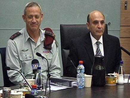 """ועדת חוץ וביטחון. רה""""מ דוחה את הטענות (צילום: חדשות 2)"""