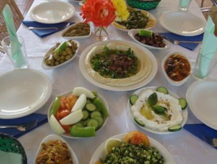 מסעדת צנובר ירכא (צילום: משפחת יחיאלי)