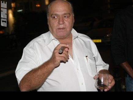 משה דדש. נפגש עם קורנפיין בתל אביב (צילום: מערכת ONE)
