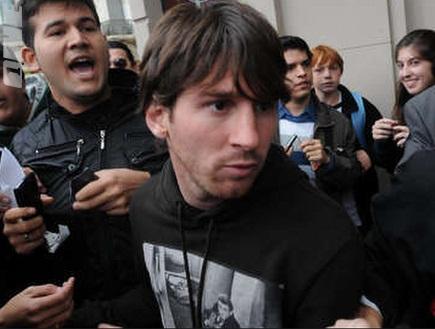 ליונל מסי. האש תעבור עכשיו מווילס לארגנטינה? (צילום: מערכת ONE)