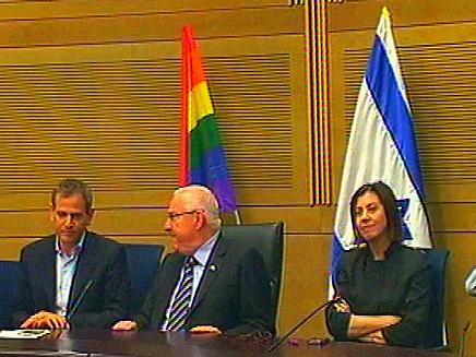 """""""כנס הגאווה"""", היום במשכן הכנסת (צילום: חדשות 2)"""