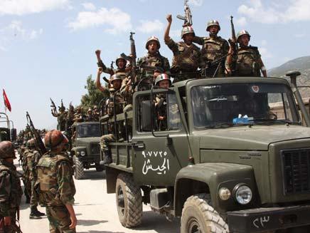 כוחות סורים (צילום: חדשות 2)