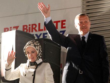 ארדואן. ניצח בבחירות בטורקיה (צילום: AP)