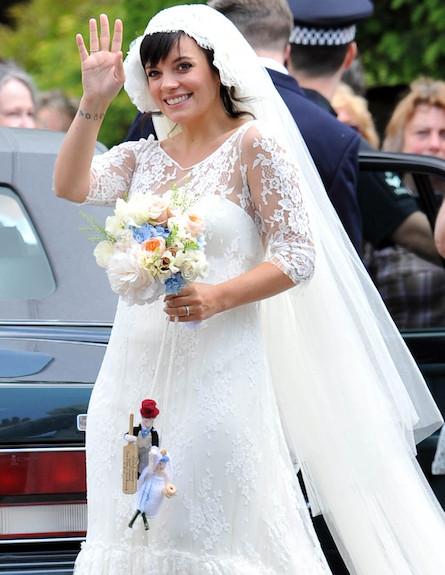 לילי אלן מתחתנת (צילום: mako)