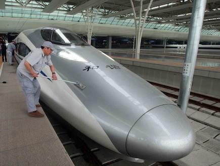 הרכבת המהירה ביותר בעולם (צילום: VCG, GettyImages IL)