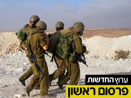 חיילים בשטח (צילום: חדשות 2)