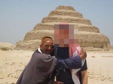 אילן גורן, נתפס במצרים בחשד לריגול (צילום: חדשות 2)