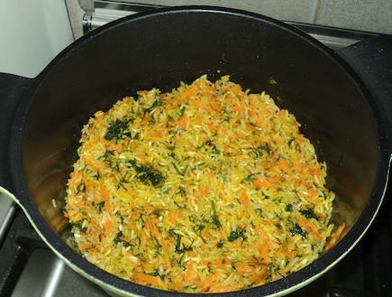 אורז עם גזר ושמיר של סמדי (צילום: סמדר וקנין)