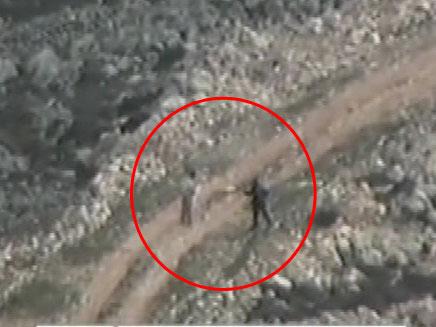 """צה""""ל פרסם סרטון ובו נראה החשוד יורה בפלסטיני (צילום: חדשות 2)"""