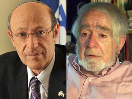 נתן זך, עתניאל שנלר (צילום: חדשות 2)