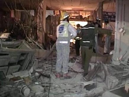 זירת הפיצוץ בנתניה (צילום: חדשות 2)