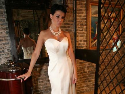 דנה רון לוינו סוקה בשמלת כלה (צילום: People Photography)