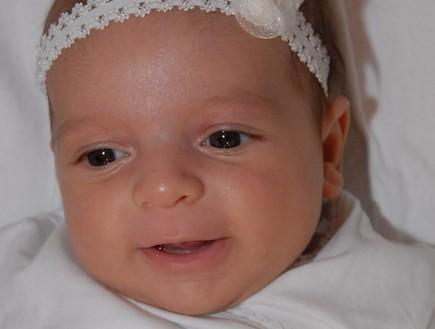 ליאל בת חודש (צילום: תומר ושחר צלמים)