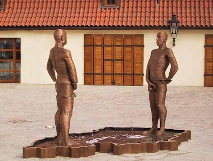מזרקת המשתינים, פראג, צ'כיה (צילום: האתר הרשמי)