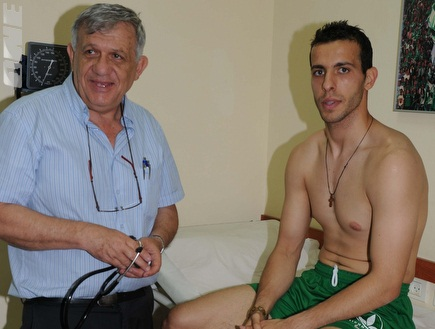 בויאן שאראנוב (האתר הרשמי של מכבי חיפה) (צילום: מערכת ONE)
