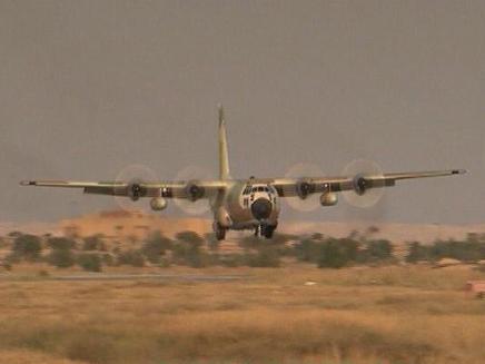 הצצה נדירה לקורס הטיס (צילום: חדשות 2)