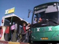 נהג האוטובוס קנה פיצוחים. ארכיון