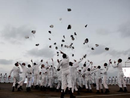 """סיום קורס חובלים (צילום: מיכאל שבדרון , אתר צה""""ל)"""