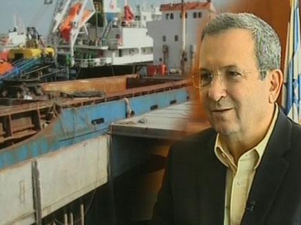 אהוד ברק מדבר על המשט לעזה (צילום: חדשות 2)