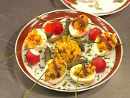 מהאודישן של זוהר ארנון: ביצים ממולאות (תמונת AVI: mako)