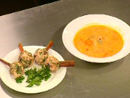 מהאודישן של דני שמש: מרק וקבבוני דגים (תמונת AVI: mako)